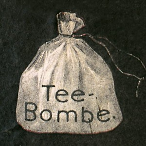 Tea bomb - in Germany TEEKANNE GmbH & Co. KG took notice of this forerunner of the tea bag.